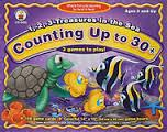 1,2,3 TREASURES IN THE SEA - COUNTING UP TO 30+