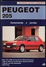 PEUGEOT 205 DÍZEL XLD/GLD XRD/GRD SRD 1983-TÓL - SZERVIZ