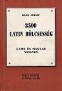 3500 LATIN BÖLCSESSÉG