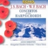 J.S. BACH - W.F. BACH - CONCERTOS FOR TWO HAR