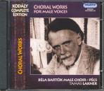 KODÁLY - CHORAL WORKS FOR MALE VOICES