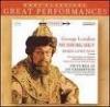 GREAT PERFORMANCE - GEORGE LONDON - MUSSORSKY - BORIS GODUNOV