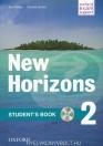 NEW HORIZONS 2. STUDENTS BOOK + CD-ROM