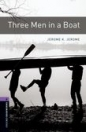 THREE MEN IN A BOAT + CD - BOOKWORMS LIBRARY 4