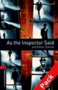 AS THE INSPECTOR SAID + CD - BOOKWORMS LIBRARY 3
