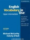ENGLISH VOCABULARY IN USE UPPER-INTERMEDIATE WITH ANSWERS 2ND EDITION