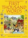 FIRST THOUSAND WORDS IN GERMAN - STICKER BOOK