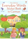 EVERYDAY WORDS STICKER BOOK IN GERMAN
