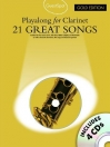 21 GREAT SONGS - PLAYALONG FOR CLARINET + 4CDS AM997788