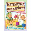 MATEMATIKA MUNKAFÜZET TÉMAZÁRÓ DOLGOZATOKKAL - 4. OSZTÁLYOS