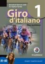 GIRO D ITALIANO 1. OLASZ NYELVKÖNYV + CD NT-56551/NAT
