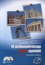 10 PRÓBANYELVVIZSGA NÉMET NYELVBŐL+CD-B2 SZINTŰ(TELC ÉS ECL)