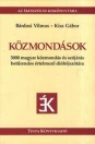 KÖZMONDÁSOK - 3000 MAGYAR KÖZMONDÁS ÉS SZÓJÁR
