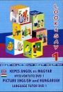 LOOK & SAY 1 - KÉPES ANGOL ÉS MAGYAR NYELVOKTATÓ DVD